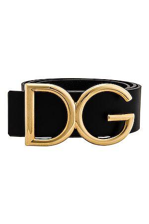 Dolce & Gabbana Logo Belt in &