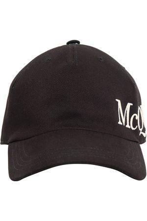 Alexander McQueen Logo Embroidery Cotton Cap
