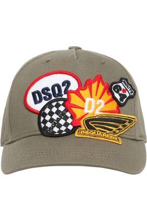 Dsquared2 Cotton Gabardine Baseball Hat