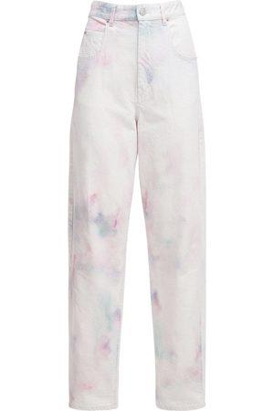 Isabel Marant Corfy Bleached Denim Baggy Jeans