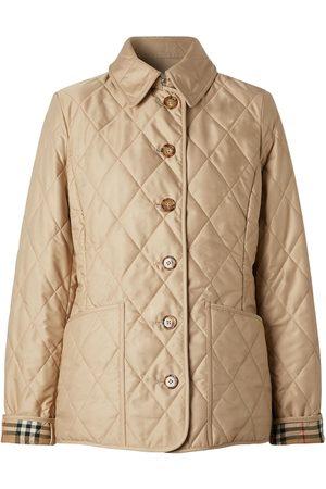 Burberry Women Jackets - Fernleigh Quilted Short Jacket