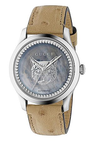 Gucci G Timeless Automatic 38mm Watch in Ostrich