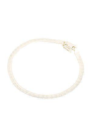 LOREN STEWART Herringbone Bracelet in Sterling
