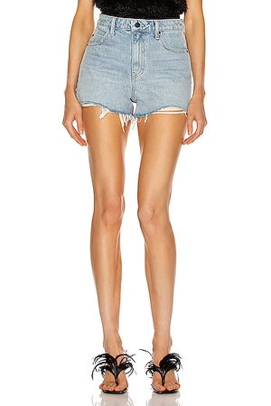 Alexander Wang Women Shorts - Bite Short in Bleach