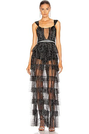 Aadnevik Layered Sparkle Gown in