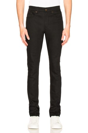 Saint Laurent 5 Pocket Skinny Jeans in