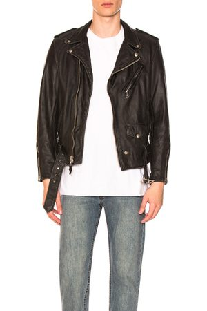 Schott NYC Vintage Fit Moto Jacket in