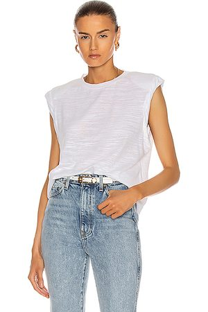 THE RANGE Shoulder Pad Muscle Tee in