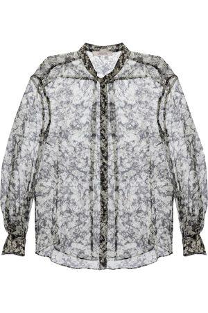 Dorothee Schumacher Shimmering Flower silk-blend blouse