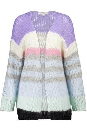 Dorothee Schumacher Airy Attitude striped mohair-blend cardigan