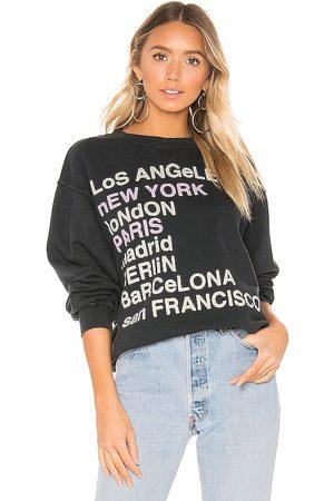 ANINE BING City Love Sweatshirt in . Size M, S, XS.