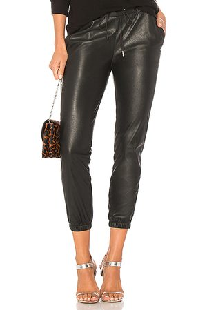 N:philanthropy Scarlett Leather Jogger in . Size S.