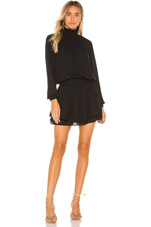 krisa X REVOLVE Smocked Turtleneck Dress in . Size M, S, XS.