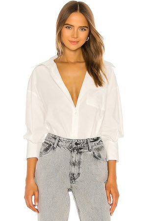 ANINE BING Mika Shirt in . Size S.