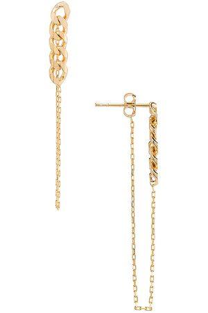 Natalie B Jewelry Lennox Chain Earring in .