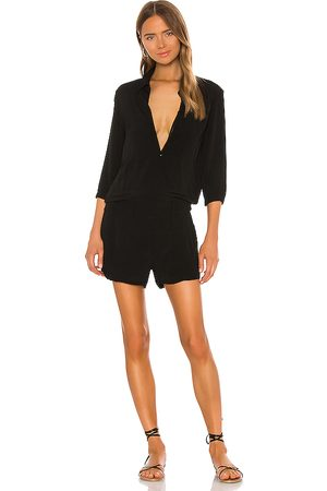 MONROW Zip Up Romper in . Size M, S, XS.
