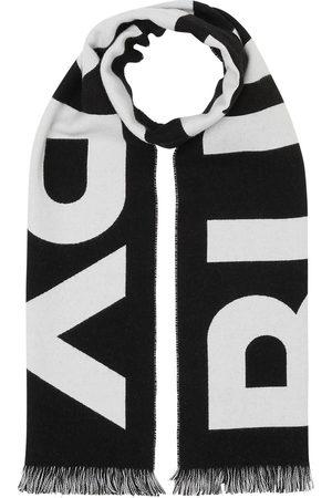 Burberry Jacquard logo scarf
