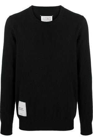 Maison Margiela Logo patch long-sleeve jumper