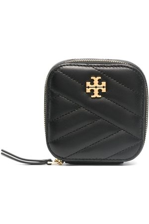 Tory Burch Quilted lambskin jewellery case