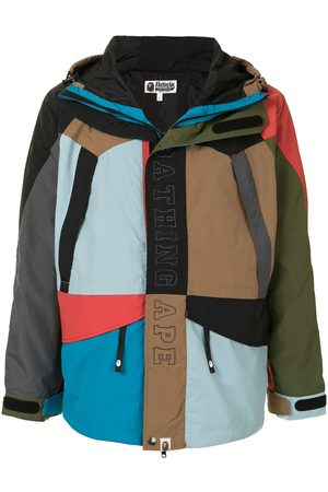 A BATHING APE® Cordura colour-block snowboard jacket