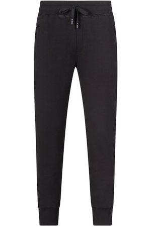 Dolce & Gabbana Cotton Logo-Plaque Sweatpants