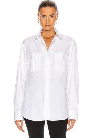 WARDROBE.NYC Tailored Shirt in