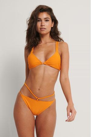NA-KD Two Strappy Bikini Panty - Orange