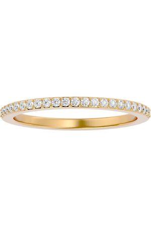 SuperJeweler 1/4 Carat Diamond Wedding Band in 14K (1.70 g) (H-I, SI2-I1), Size 4