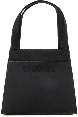 CHANEL 1988 jacquard logo tote bag