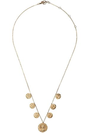 Anissa Kermiche 18kt yellow Louise d'Or Collier coin necklace