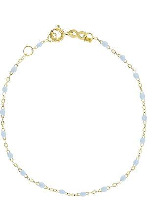 GIGI CLOZEAU 14kt gold classic Gigi bracelet - YG/BBLU