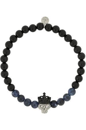 Tateossian King Skull bracelet