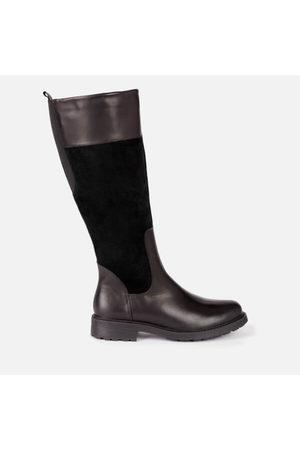 Clarks Women's Orinoco 2 Hi Leather/Warm Lined Knee High Boots