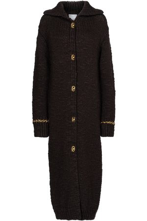 Bottega Veneta Embellished wool-blend cardigan coat