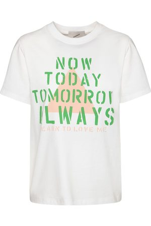 COPERNI Oversize Now Today Print Cotton T-shirt