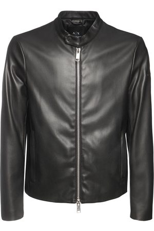 Armani Faux Leather Jacket