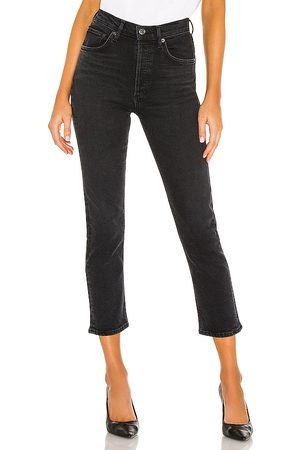 AGOLDE Riley High Rise Straight Crop in . Size 24, 25, 26, 27, 28, 29, 30, 31, 32.