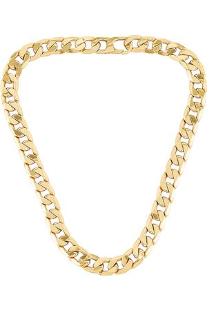 Baublebar Large Michel Curb Chain Necklace in .