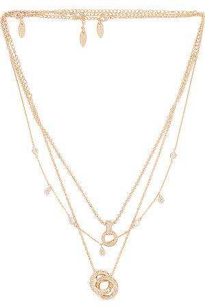 Ettika Layered Pendant Necklace in .