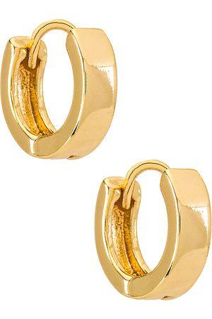 Natalie B Jewelry Marga Huggy Hoop Earring in .