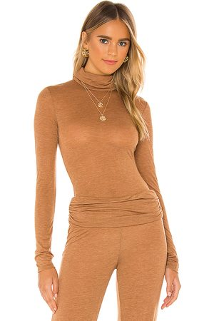 Michael Costello X REVOLVE Sheer Turtleneck Top in . Size M, XL.