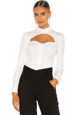 FLEUR DU MAL Bella Shirt in . Size 10, 2, 4, 6, 8.
