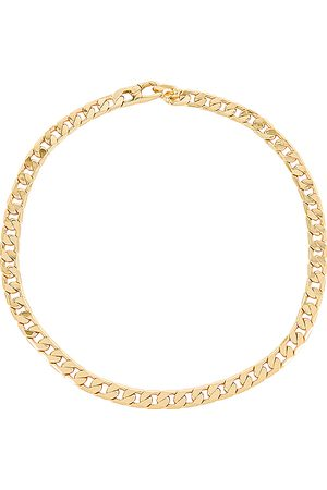 Baublebar Small Michel Curb Chain Necklace in .