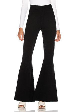 Victor Glemaud Women Trousers - Flare Pant in Solid