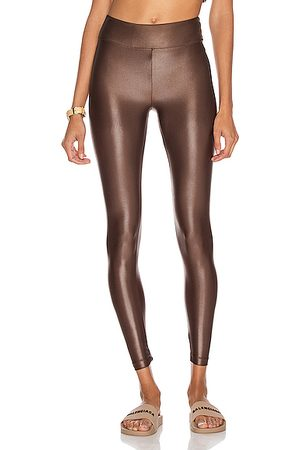 Koral Lustrous High Rise Infinity Legging in Cafe