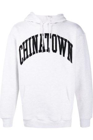Chinatown Market Corduroy logo cotton hoodie