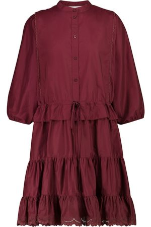 Chloé Broderie anglaise cotton minidress