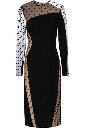 Stella McCartney Arielle cady midi dress