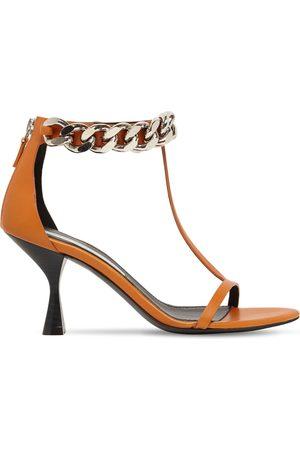 Stella McCartney 75mm Falabella Faux Leather Sandals
