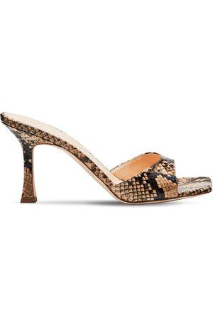 MAGDA BUTRYM 80mm Estonia Snakeskin Sandals